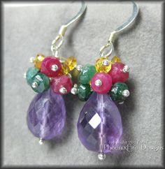 amethyst-rubyemeraldsapphires-earrings1a