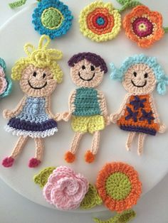 Hairpin Lace Crochet, Crochet Motif, Knit Crochet, Crochet Stitches Patterns, Baby Knitting Patterns, Stitch Patterns, Cute Crafts, Diy And Crafts, Crochet Accessories