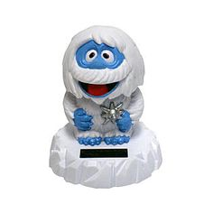 Bumble the Abominable Snow Monster Solar Powered Bobble Head