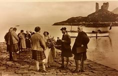 The Royal Landing in Skye,1933