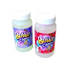 Candy Bubbles! I use to love these. My dog, Lexis, loves them too! No idea where to get them; I use to get the at The Limited Too.