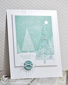 images hero arts many branches | ... use of the Winter Moon and Many Branches stamps on this card by Kim