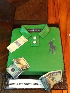 Ralph Lauren Polo Cake w/cash
