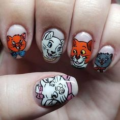 Disney Nails, Popsugar, Art Ideas, Manicure, Nail Art, Inspire, Beauty, Nail Manicure, Nail Bar