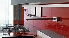 Modular Kitchens: Kitchen Artematica Vitrum Arte [A] by Valcucine ...