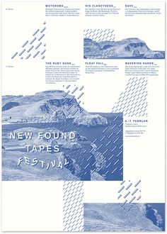 new found tapes poster Art Artwork Visual Graphic Composition Mixer Cover typography Poster Illustration Design Repin