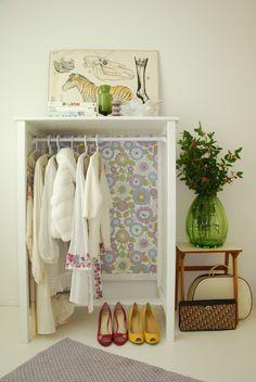 Decorando o guarda roupas