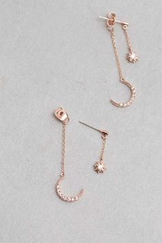Moon Jewelry Ideas 84 for beautiful affordable jewelery come Moon Jewelry, Cute Jewelry, Silver Jewelry, Jewelry Accessories, Jewelry Necklaces, Jewelry Ideas, Gold Bracelets, Jewelry Box, Diy Jewelry