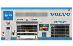 Volvo - Ove Lindstrom Bilservice Diorama | Dioramas