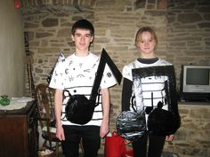 musical note costume for halloween - Google Search