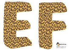 EUGENIA - KATIA ARTES - BLOG DE LETRAS PERSONALIZADAS E ALGUMAS COISINHAS: Alfabeto safari