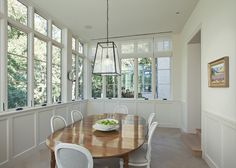 so much natural light in this dining room  |  2525 Pecos  |  http://www.gottesmanresidential.com/listing/2525-pecos/