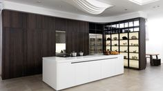 Quique Dacosta's #kitchen for the PORCELANOSA Grupo right in the heart of #London #design #UK