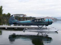 planeshots:  Cessna 195 on floats