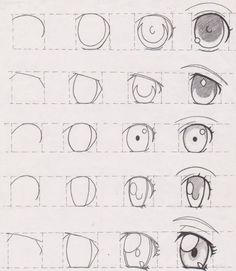 Cartoon Eye Tutorial ||| How-to-Draw-an-Eye-Best-Tutorials-to-Follow || Step by Step Eye Drawing Tutorial || Things to draw when you get bored