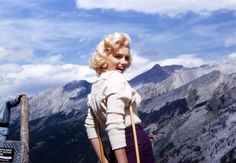 Marilyn in the Mountains