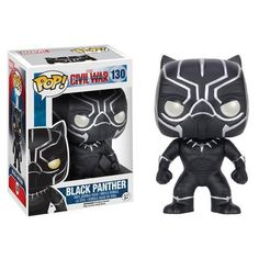 Black Panther Collectible Vinyl Figure - Original Funko Pop Marvel Civ – One Geek  DETAILS & DIMENSIONS Product: Black Panther Figures Product Size: 10 cm Material: PVC Age: Over 6 years old Type: Collectible Vinyl Doll Theme: Movie & TV Manufacturer: Funko