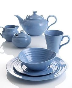 Portmeirion Sophie Conran Forget-Me-Not Dinnerware Collection - Dinnerware - Dining \u0026 Entertaining - Macy\u0027s  sc 1 st  Pinterest & Portmeirion Sophie Conran Celadon Dinnerware Collection | Sophie ...