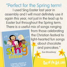 Sing Easter is a wonderful collection of children's songs bursting with life. Perfect for fun Easter and spring term assemblies. Singing School, School Play, School Teacher, Easter Songs For Kids, Kids Songs, Preschool Songs, Classroom Activities, Primary School Songs, Out Of The Ark