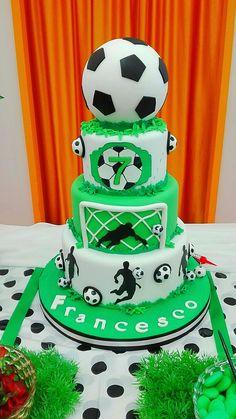 #calcio #rosCake