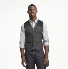 Sleeveless Houndstooth Vest - Clothing - Kenneth Cole