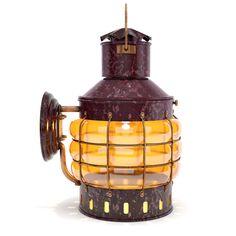 Old Ship Anchor Lantern premium 3d model