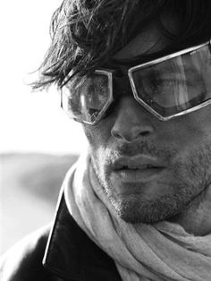 Those goggles, I want them. He wouldnt be so bad to have either...