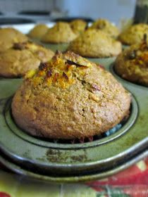 Hot and Cold Running Mom - Just my Stuff: Whole Orange, Raisin and Bran Muffins Bran Buds Muffin Recipe, Muffin Recipes, Bran Muffins, Breakfast Muffins, All Bran, Bran Cereal, Muffin Cups, Raisin, Scones