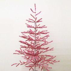 Amazon.com: Kurt S. Adler 3-Feet Retro Pink Coral Christmas Tree: Home & Kitchen