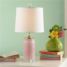Mini Hobnail Table Lamp