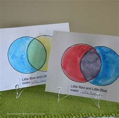 Little Blue and Little Yellow Book activity with free printable: