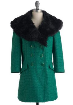 Uptown Outings Coat, #ModCloth