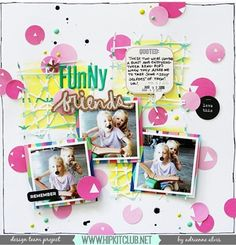 Another gorgeous inspiration today with this LO created by designer @adriennealvis 💕 #march2016 kits :: @kjstarre @ellesstudio @official_basicgrey @pinkfreshstudio #hipkits #hipkitclub #scrapbooking #scrapbooklayout #papercrafting