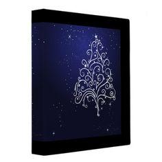 Shop swirl christmas tree notebook binder created by dooni_notebooks. Christmas Photos, Christmas Tree, Notebook Binder, 3 Ring Binders, Binder Inserts, Binder Design, Custom Binders, Family Holiday, Photo Quality
