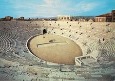 The Verona Arena (Arena di Verona) is a Roman amphitheatre in Verona, Italy, which is internationally famous for the large-scale opera performances given there. It is one of the best preserved ancient structures of its kind.