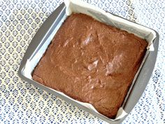 Sweet Potato Cinnamon Brownies. Totally healthy, totally delicious (Gluten free, grain free, dairy free, soy free and low FODMAP)