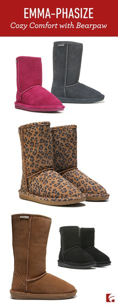 Cool weather is here. With fall already here and winter on the horizon, that means looking forward to a lot of things—hayrides, Halloween, pumpkin spice EVERYTHING, the holidays, and of course, wearing cozy and comfortable winter boots from Bearpaw.