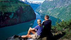The view of the Geirangerfjord from Ørneveien, Norway - Photo: Terje Rakke/Nordic Life/Fjord Norway