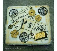 #365чай_фаранчук Все раздумывала, как все эти карточки оформить, в итоге получилась вот такая коробочка. Из-под чая, само собой 😊… Tea Bag Art, Vintage World Maps, Bags, Handbags, Bag, Totes, Hand Bags