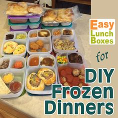 Prep and freeze ahead. Microwave Freezer Meals, Individual Freezer Meals, Single Serve Meals, Microwave Breakfast, Freezer Cooking, Meals That Freeze Well, Make Ahead Meals, Food Baby, Baby Food Recipes