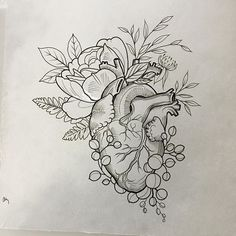 A #wildheart #anatomicalheart with #wildflowers taken! @wonderlandpdx