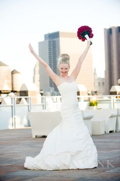 Planned, Designed & Produced by www.swankproductions.com Candlelight Wedding at Tribeca Rooftop. Bride In Her White Wedding Dress and Red Bouquet Doing a Photo Shoot #BRIDE #WEDDING #DRESS #BRIDAL #GOWN #RED #BOUQUET #CANDLELIGHT #WEDDING #TRIBECA #ROOFTOP #WEDDING #INSPIRATION #IDEAS #DECOR #PHOTO #SHOOT