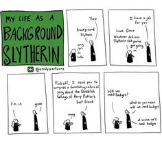 Life as a Background Slytherin