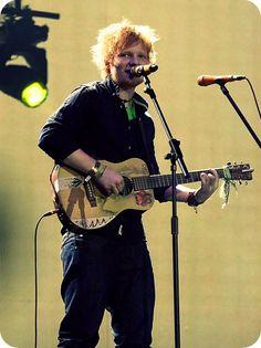 ed sheeran!  one of my musical heros.  gahhhhh!
