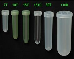 Water tube sizes