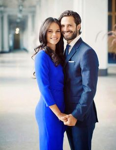 The new official portrait of Prince Carl Philip and Sofia Hellqvist ...... Sept 29, 2014.