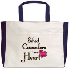 School Counselors Have Heart Beach Tote