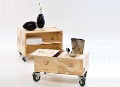 Ideas para reciclar cajas de madera.   Martina Hess