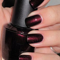 OPI Midnight in Moscow. Bought today and love it! Great fall color