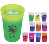 Changing color drink ware from Aakron
